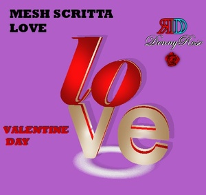 LOVE SCRITTA  MESH