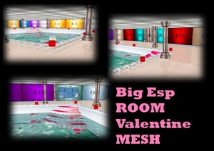 spa valentine room mesh
