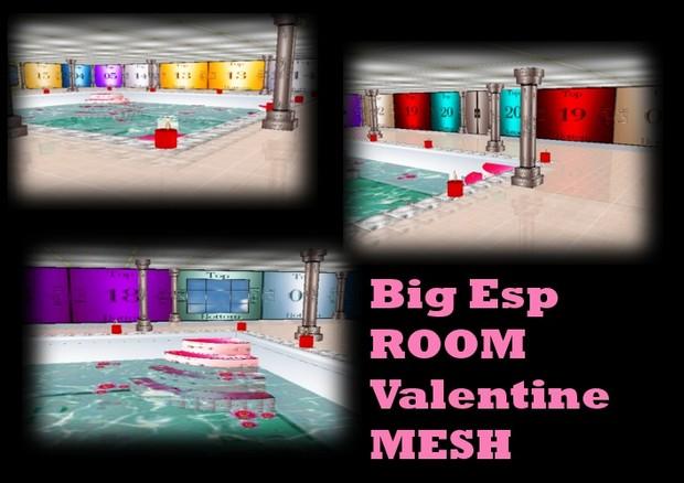 spa valentine room mesh