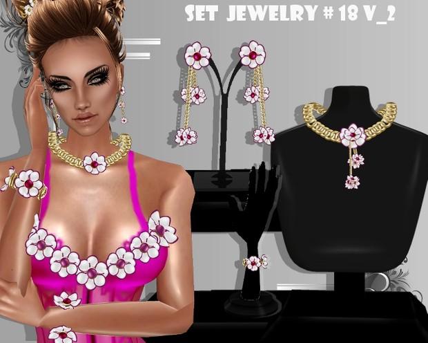 SET MESH JEWELRY # 18  _V_2