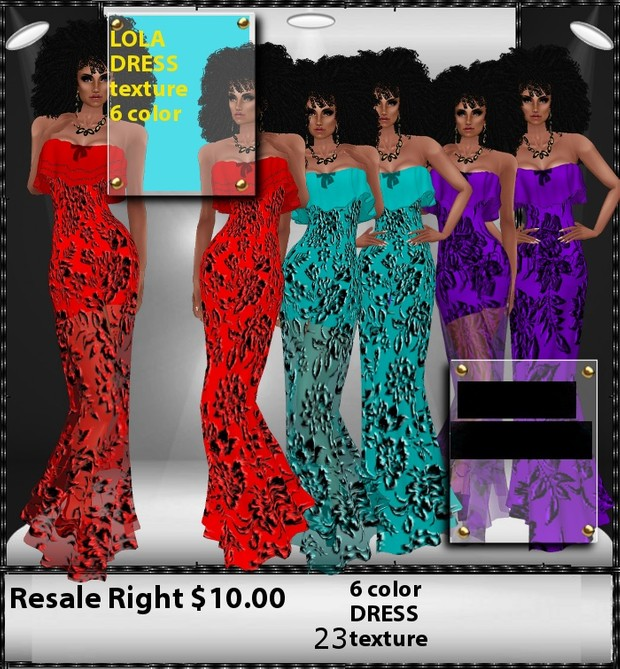 dress lola texture