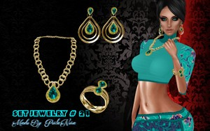 set mesh jewelry # 21