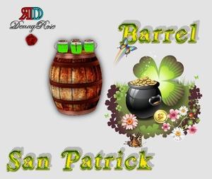 BARREL (BARILE)+ POSA SAN PATRICK MESH