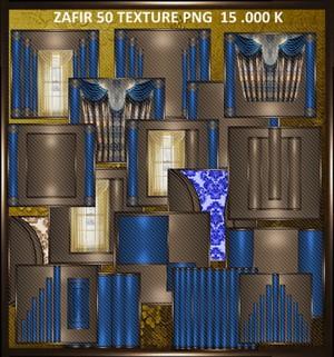 50 TEXURE  ROOM ZAFFIR
