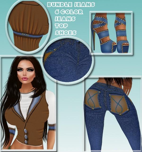 bundle jeans texture