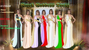 Greek goddess dress  texture