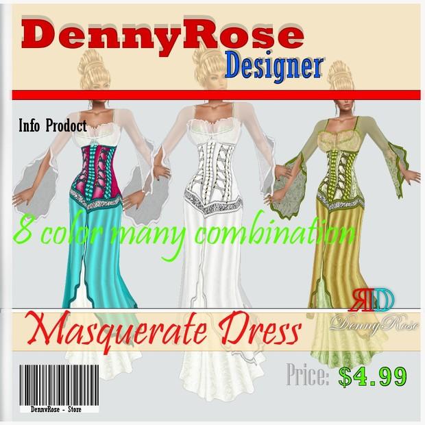 MASQUERATE DRESS TEXTURE