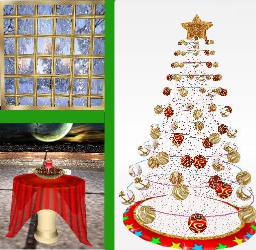 9 mesh furniture for christmas