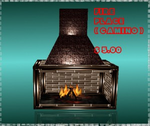 fire place mesh