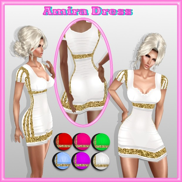 amira dress texture  HD