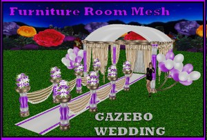 WEDDING GAZEBO  MESH
