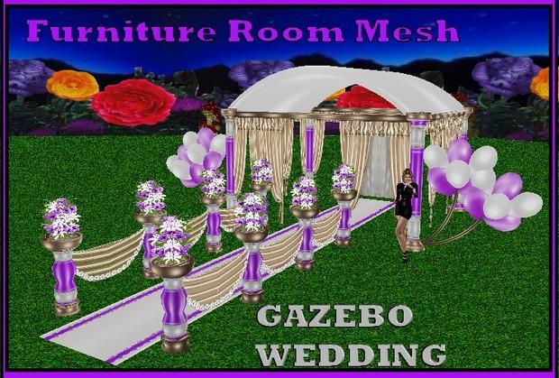 WEDDING GAZEBO  MESH