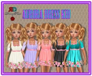 ❀ ❀ AURORA DRESS KID ❀ ❀