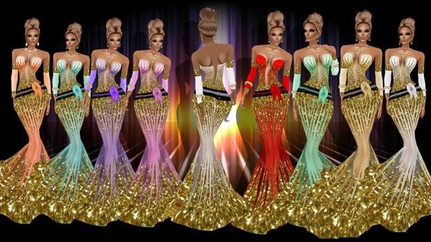 texture venus dress