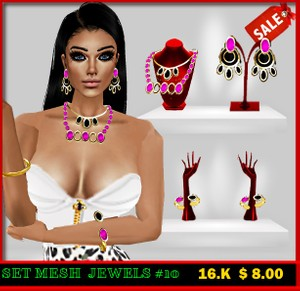 MESH SET  JEWELS #1 0