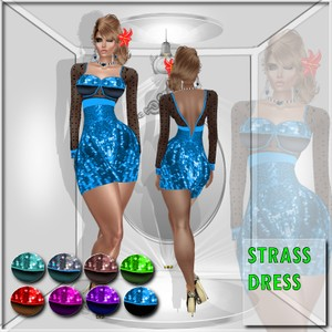 STRASS DRESS TEXTURE  HD