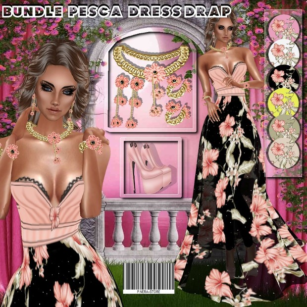 BUNDLE PESCA DRESS DRAP
