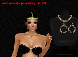 SET MESH JEWELRY # 24