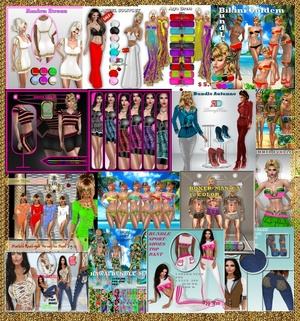 MEGA PACKAGE  TEXTURE CLOTHES