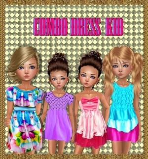 ❀ ❀ COMBO KID DRESS ❀ ❀