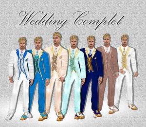 WEDDING SUIT COMPLET 2017