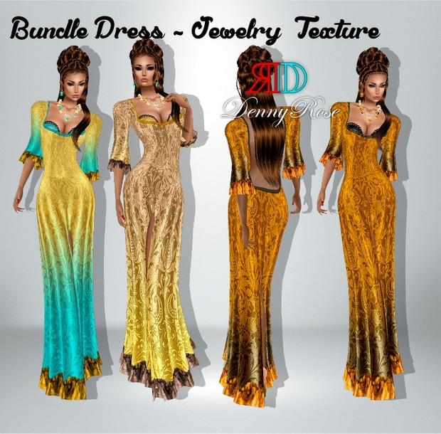 bundle  dress _ jewelry