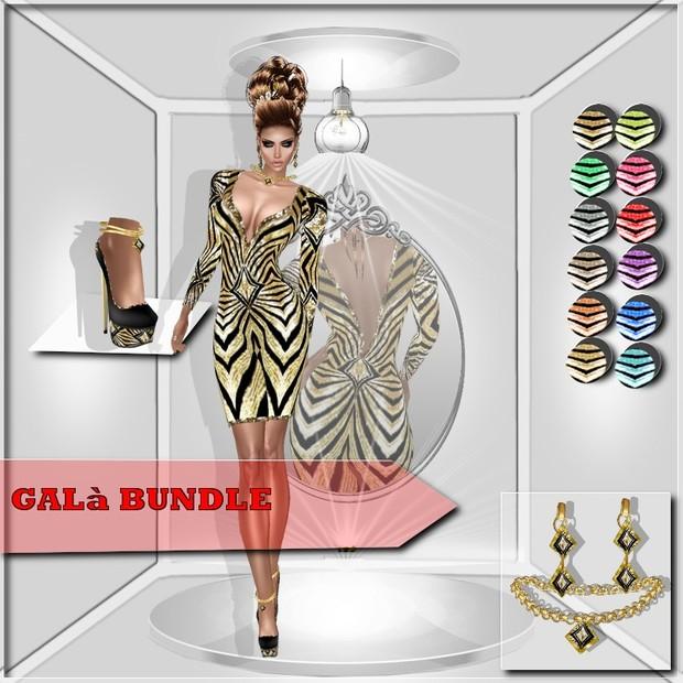 GALà BUNDLE  DRESS