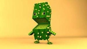 Cactus Blocky Guy