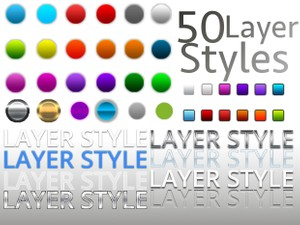 50 Photoshop Layer styles