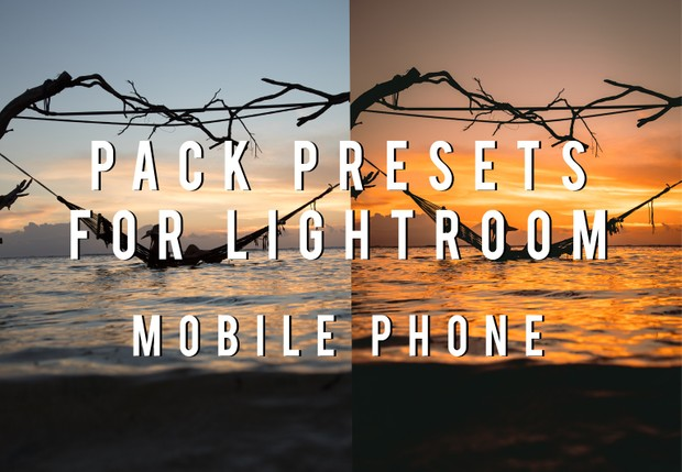 PACK Lightroom preset for MOBILE JC Pieri