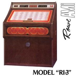 Rowe AMI  RI-3 Jewel  (1980)   Manual & Flyer