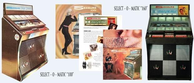 Seeburg Models AY160, AT160U, AY100, AY100U (1961)
