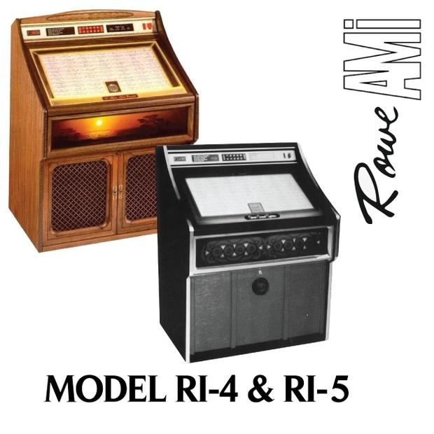 Rowe AMI  RI-4, RI-5 Romantica, Jewel (1982)