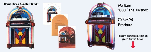 "Wurlitzer Model 1050 ""The Jukebox""   (1973-74)"