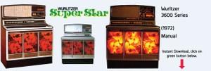 "Wurlitzer 3600 ""Super Star"" (1972)"