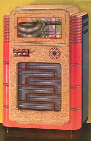 Wurlitzer Simplex Models 35,  312, 412, 616, 716 (1935-37)