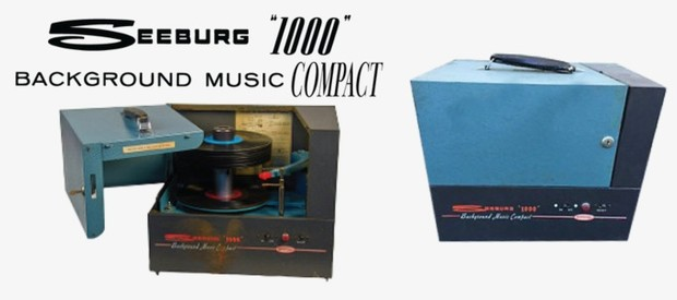 Seeburg 1000, Background Music Compact, BMC1 & BMC1A, 1960, Engineer's  Manual