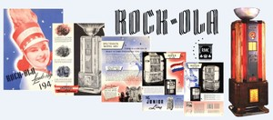 Rock-Ola  Entire 1941 Line Up Spectravox, Dial-A-Tune Mystic Music, Master, Jr. Speakers  (1941)