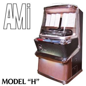 AMI  Model H H-100, H-120,  H 200, JDH-200 (1957-58)  Service Manual, Parts  & Brochure