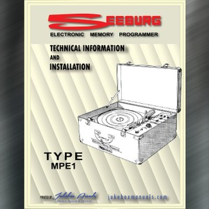 Seeburg Electronic Memory Programmer TYPE MPE 1 Manual
