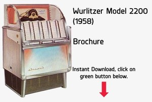 Wurlitzer Model 2200, 2204, 2250  (1958)