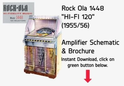 "Rock Ola 1448 ""HI-FI 120"" (1955/56)"