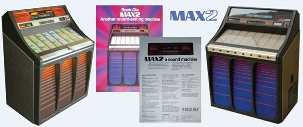 "Rock-Ola 481 ""Max 2"" (1981-83) Manual & Brochure"