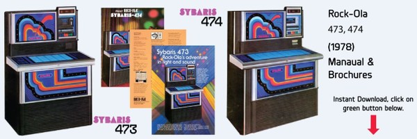 "Rock-Ola 473, 474 ""Sybaris"" (1978)"