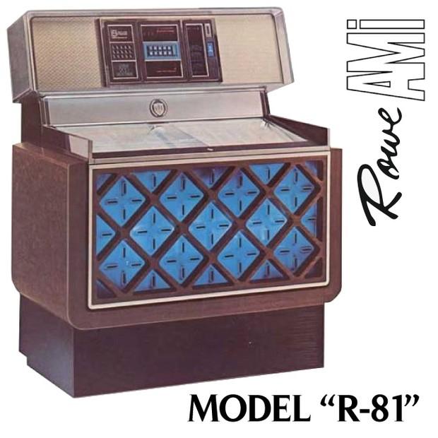 Rowe AMI R-81  (1977) Service & Parts Manual