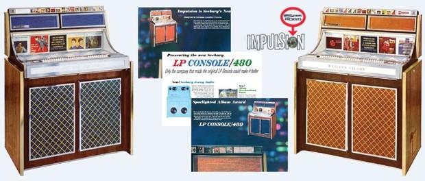 Seeburg LPC-480, LPC-480R (1965)
