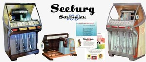 Seeburg HF100-R, HF100-RH (1954) Select-O-Matic 100