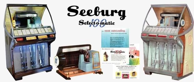 Seeburg HF100-R, HF100-RH (1954) Select-O-Matic 100