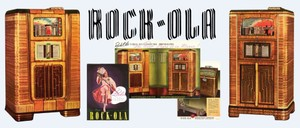 Rock-Ola  Imperial 16 Imperial 20   Back Cover, World Series & Rock-O-Ball (1937)   4 Page Brochure