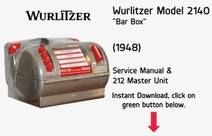 "Wurlitzer Model 2140 ""Bar Box""  (1948)"